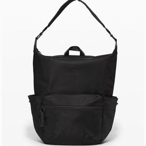 New Lululemon Easy Days Backpack Black